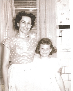 Me and My Mom circa 1958