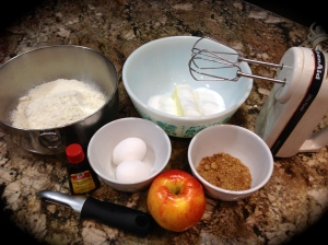 Apple Cinnamon Loaf Ingredients