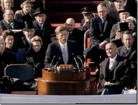 JFK Inauguration