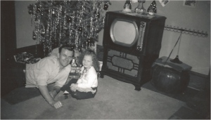 Me and My Dad By The Tree...
