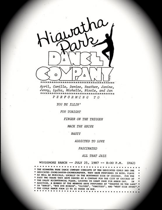 The Hiawatha Park Dance Company... (4/6)