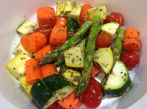 Vegetables Seasoned For Roasting