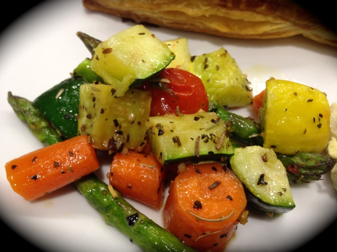 Oven Rosted Vegetables