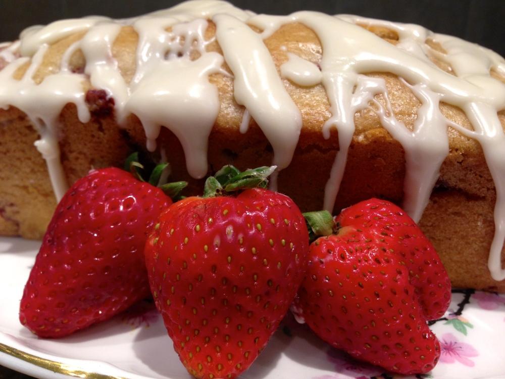 Glazed Strawberry Bread... (5/6)
