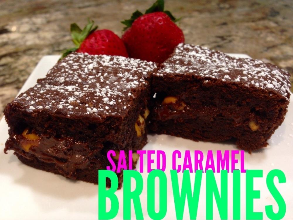 Salted Caramel Brownies... (5/5)