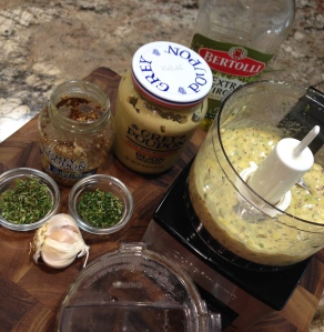 Herb Mustard Glaze Ingredients