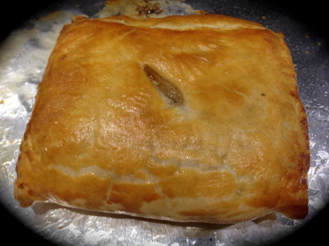 Pastry Pocket Right Out Of The Oven...