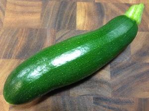 A zucchini from my garden...