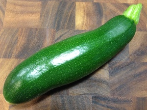 A zucchini from my garden...