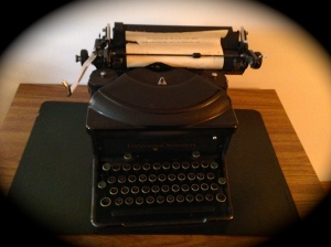 Mother Maria's typewriter...