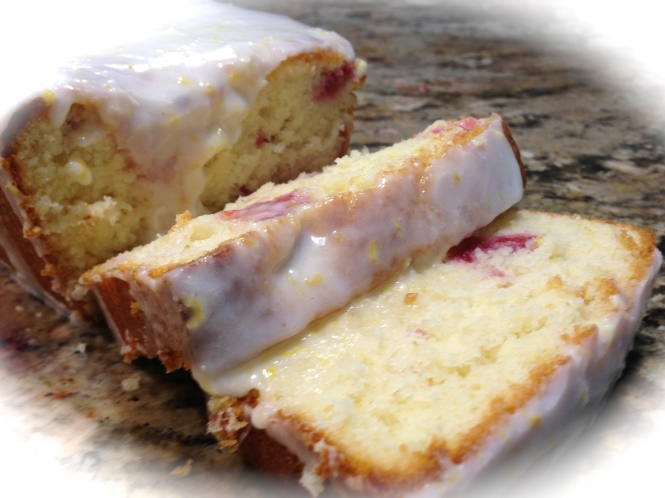 Lemon Raspberry Loaf Cake