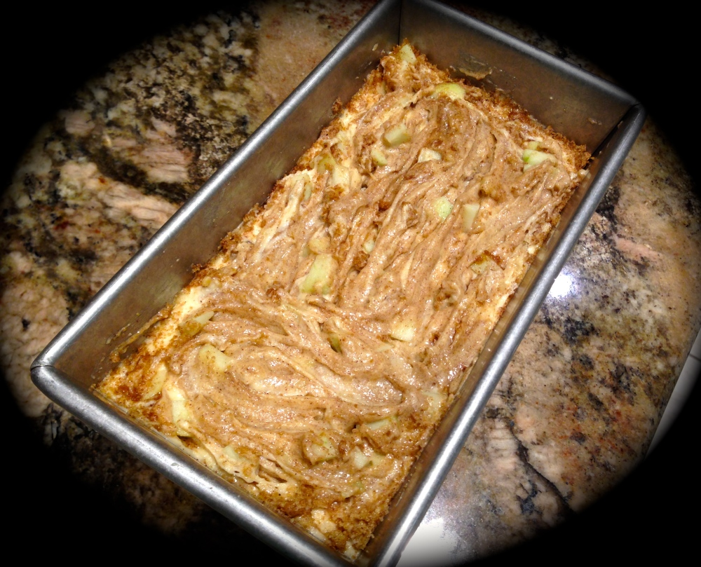 Apple Walnut Cake... (1/4)