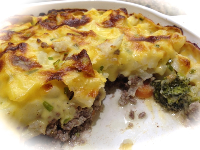 Ground Beef and Crispy Potato Casserole...