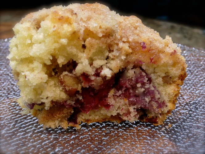 Blueberry Cinnamon Streusel Coffee Cake...