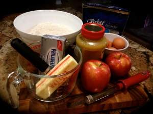 Cake ingredients...