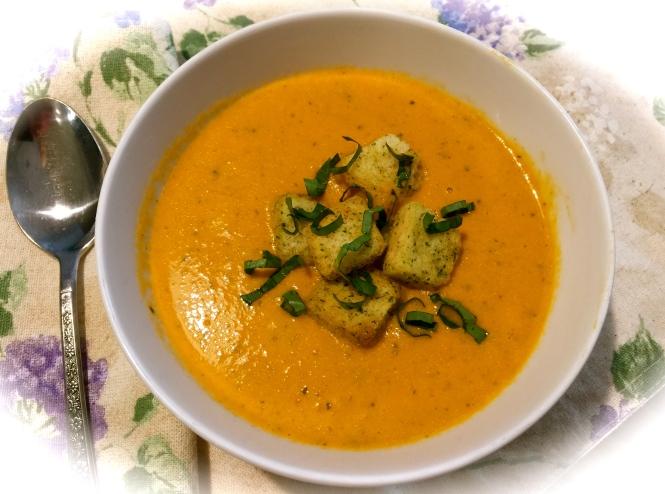 Creamy Garden Tomato Soup