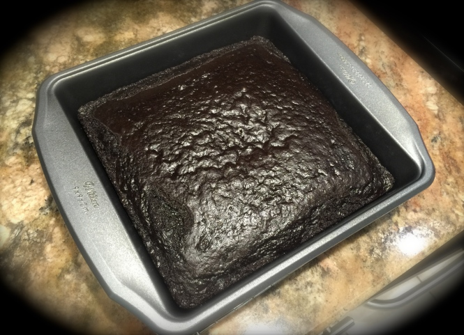 The Cake Right Out Of The Oven...