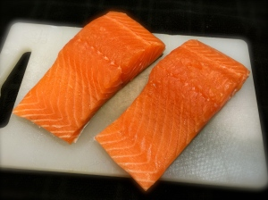 Two Six Ounce Salmon Filets