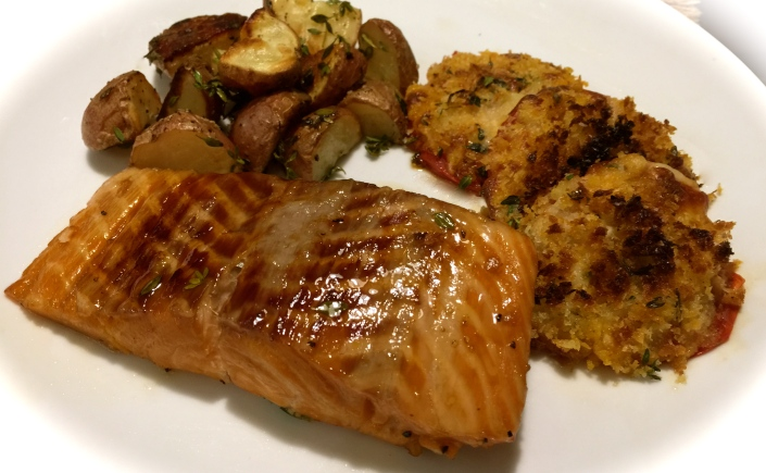 Grilled salmon in foil packets you betcha can make this its getting close to the time when grilling food will be less and oven prepared food will be more well this recipe gives you that grilled look from being ccuart Gallery