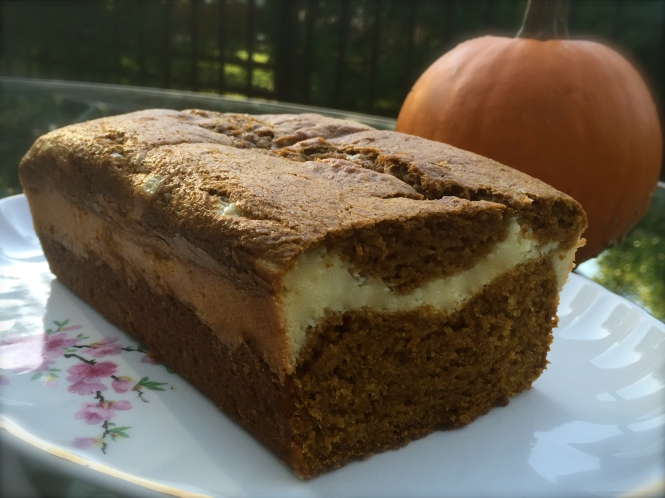 Cream Cheese Pumpkin Sweet Bread