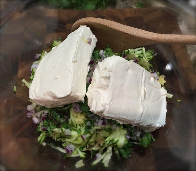 zucchini artichoke olive dip
