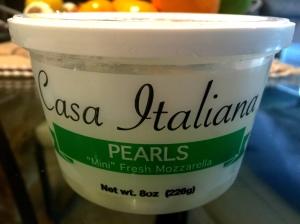 Mozzarella Pearls
