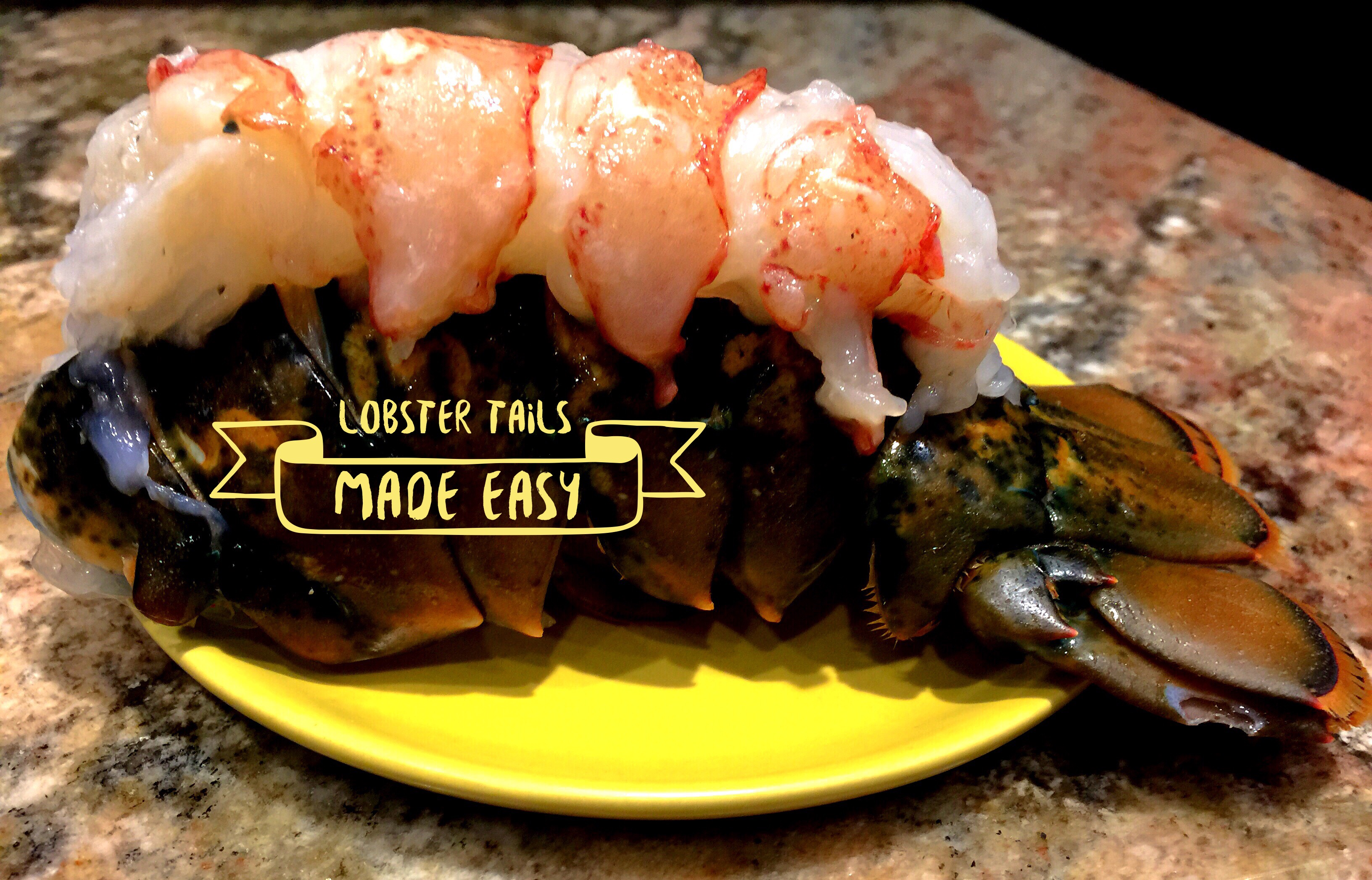 Baked lobster tail recipe foil