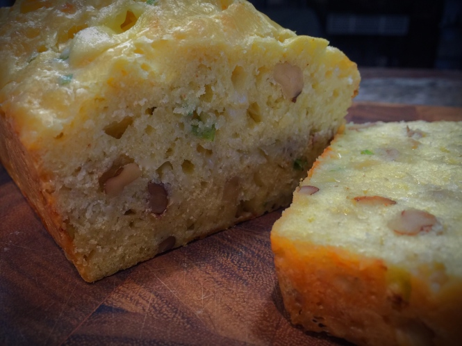 Savory Scallion And Cheese Bread