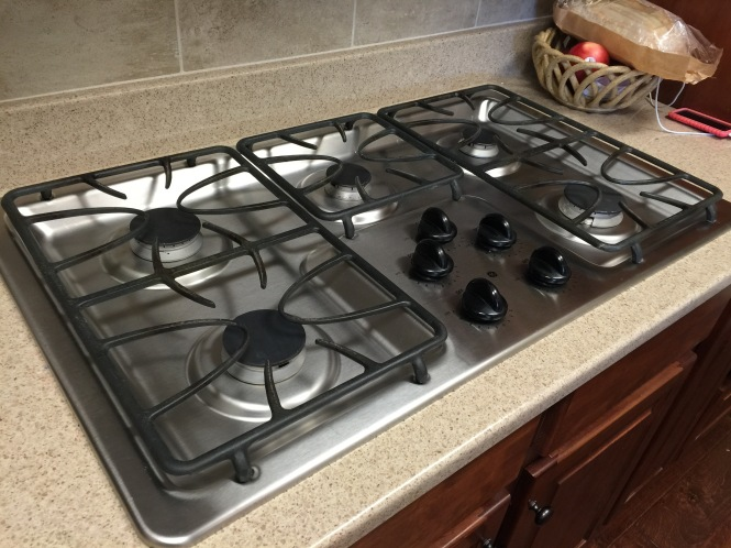 the old cooktop