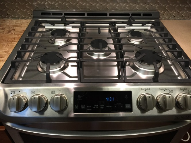 my new stove