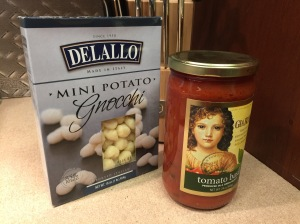 gnocchi and marinara sauce
