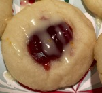 Raspberry Shortbread Cookie