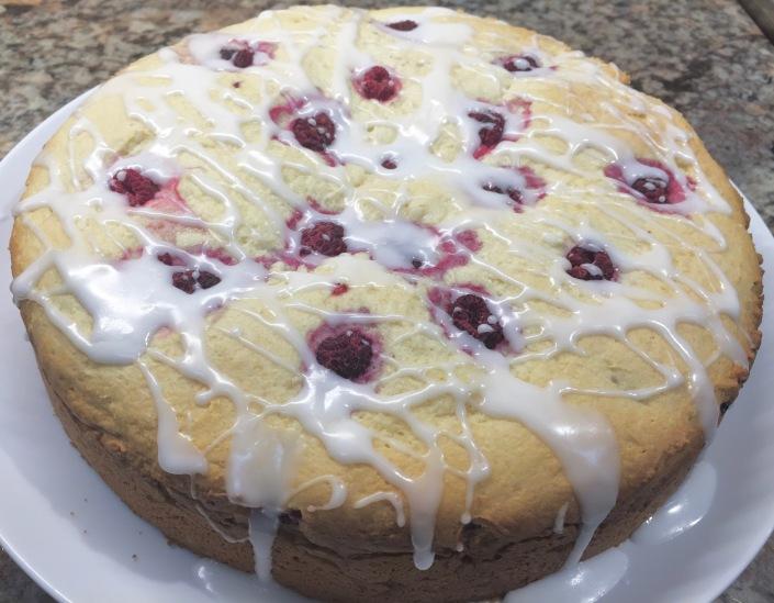 Rasberry Cheese Coffee Cake